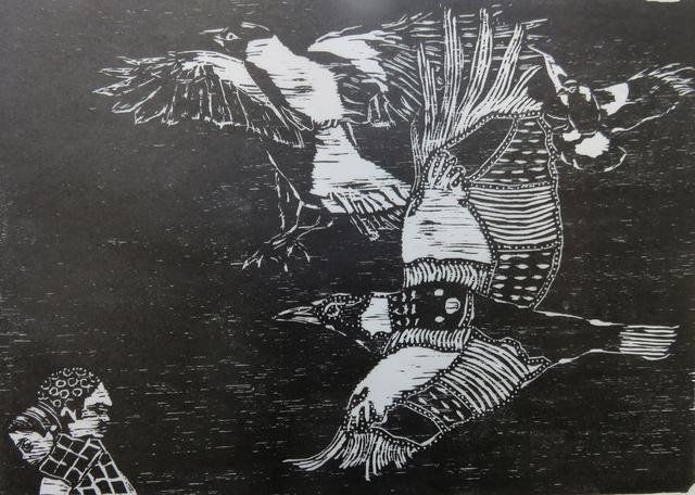 Heather Kepski, 'Flight Towards...', Open Bite Printmakers