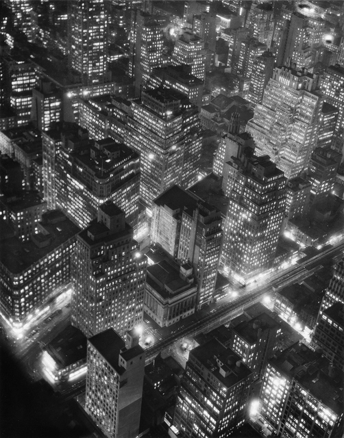 , 'New York at Night,' 1932, Holden Luntz Gallery