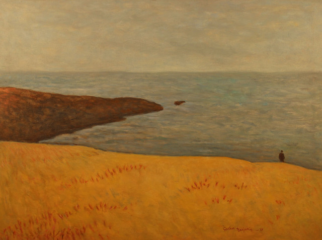 , 'The Beach at Autumn,' 1977, Gerald Peters Gallery