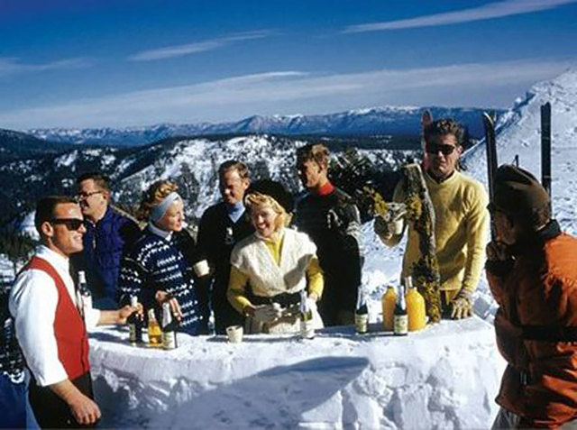 Slim Aarons, 'Apres Ski, Squaw Valley', 1961, Undercurrent Projects