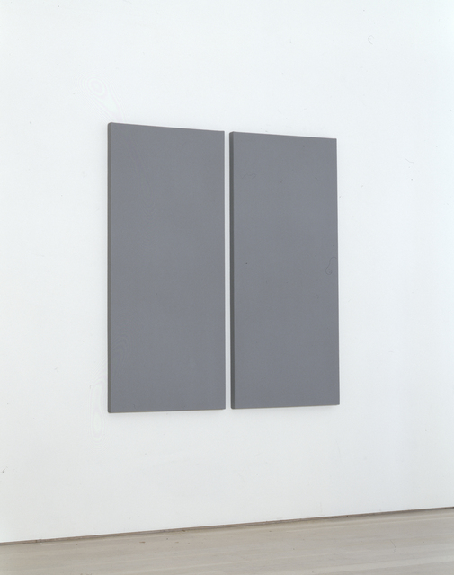 , 'Painting in 2 Vertical Parts,' 2005, Annely Juda Fine Art