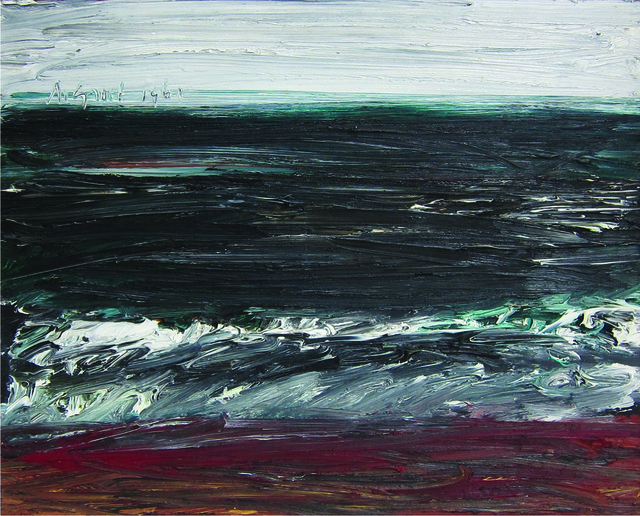 , 'untitled (Dark Sea),' 1961, Albert Merola Gallery