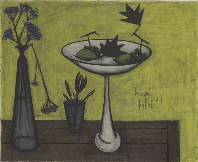 , 'Compotier et vase de fleurs,' 1954, Opera Gallery