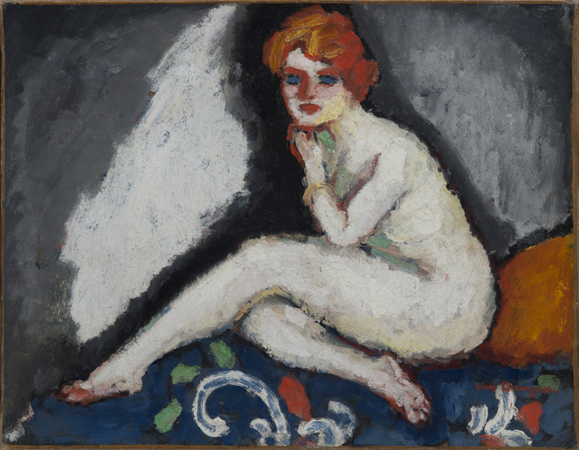 , 'Nu assis,' Painted circa 1906-1907, Hammer Galleries