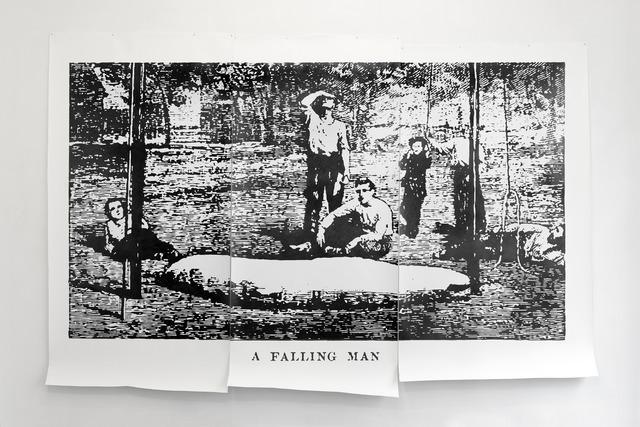 , 'A Falling Man,' 2013, Galerie Emmanuel Hervé
