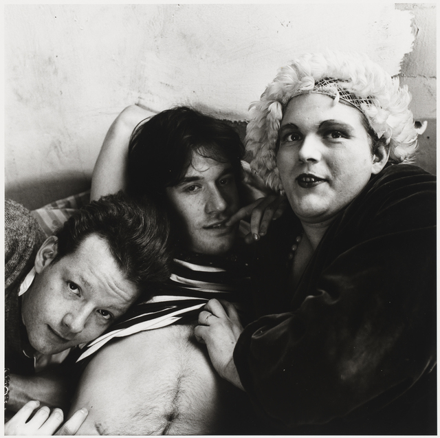 , 'Jackie Curtis, Lance Loud and Paul Ambrose,' 1975, Alexander and Bonin