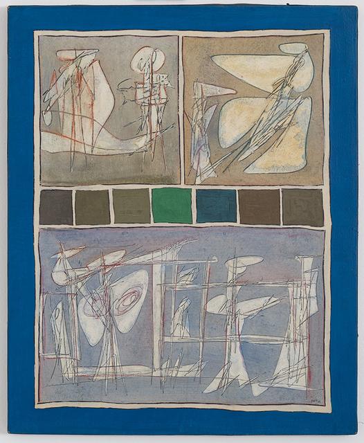 , 'Lo Scopo della Vita,' 1962, Galleria Tega
