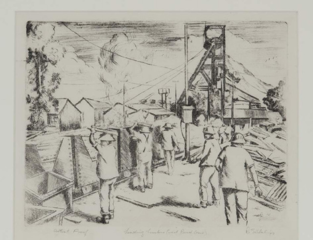 , 'Loading Timber (West Rand Cons),' 1977, Gallery MOMO