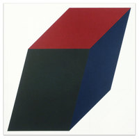 Sol LeWitt, Forms Derived from a Cube (Colors Superimposed), Plate #03