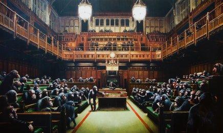 Monkey Parliament, poster