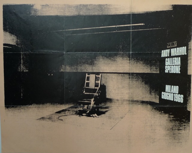 Andy Warhol, 'Electric Chair', 1966, Bengtsson Fine Art