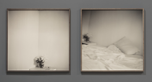 Wardell Milan, 'The most beautiful thoughts are sometimes beside the darkest; Your smell lingers on the bed. I bury my head in a getaway dream', 2017, Photography, Silver gelatin prints, David Nolan Gallery