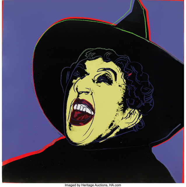 Andy Warhol, 'The Witch from the Myths portfolio', 1981, Heritage Auctions