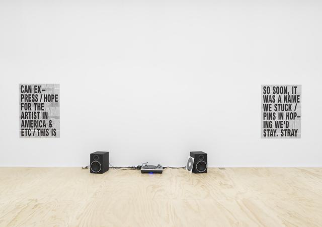 , 'STRAY,' 2017, Galerie Eva Presenhuber