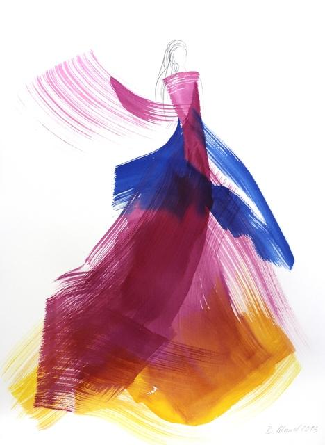 , 'The Violet Dress 4,' 2015, Artspace Warehouse