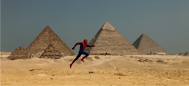 , 'Pyramid/Spiderman Project,' 2010, Corridor Contemporary