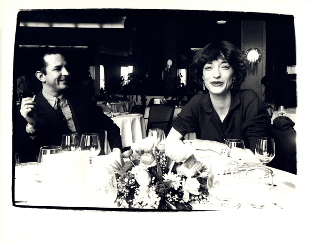 Andy Warhol, 'Andy Warhol, Photograph of Fred Hughes and Loulou de la Falaise circa 1983', ca. 1983, Hedges Projects