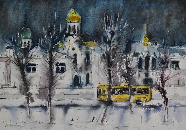 , 'Landscape of the Ulaanbaatar City,' 2015, Best Art Gallery