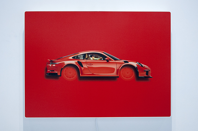 Peter Sarkisian, 'Dreamride: Lava Orange GT3 RS', 2019, Modernism Inc.
