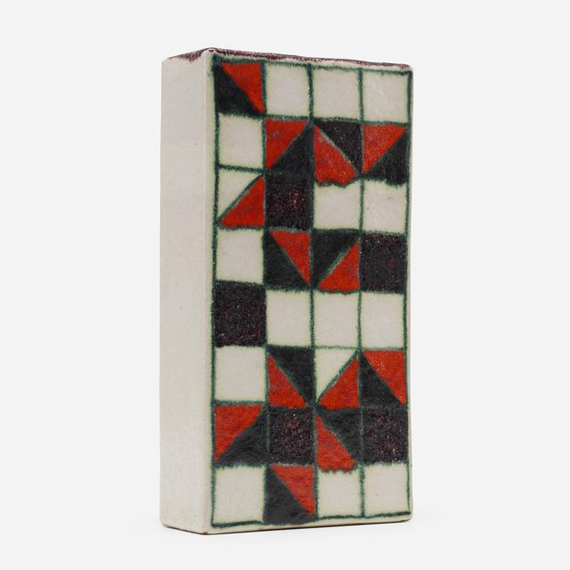 Guido Gambone, 'vase', c. 1955, Textile Arts, Glazed stoneware, Rago/Wright