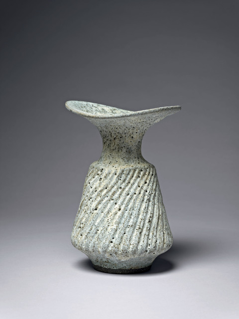 , 'Vase with Fluted Body,' ca. 1976, Offer Waterman