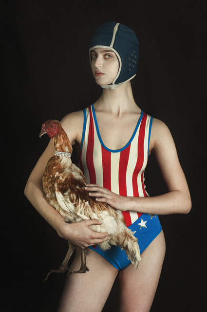 Romina Ressia, 'The Woman and the Hen', 2015, Laurent Marthaler Contemporary