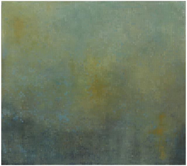 , 'Chevreul's Illusion,' 2014, Berggruen Gallery