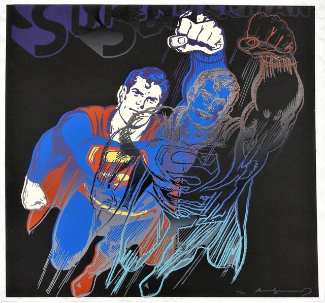 Andy Warhol, 'Myths: Superman', 1981, Print, Screenprint on Lenox Museum Board, Coskun Fine Art