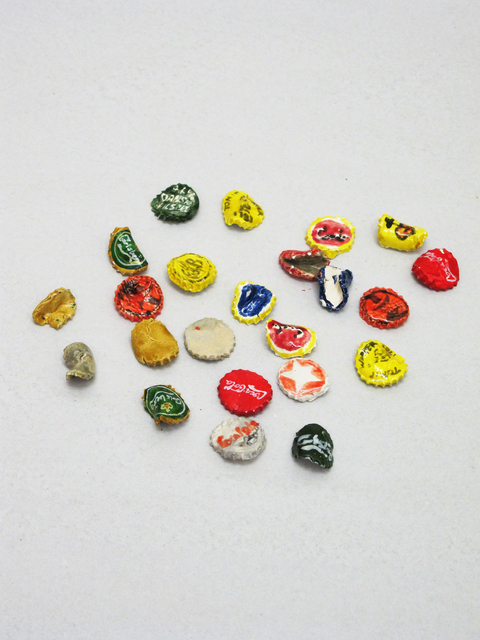 , 'Bottletops,' 2012, V1 Gallery