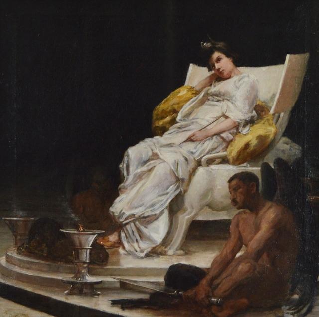 Frank Duveneck, 'Allegory to Diana', Eisele Gallery of Fine Art