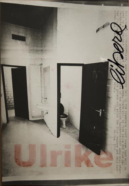 , 'La cella 2,' 1975, Frittelli Arte Contemporanea
