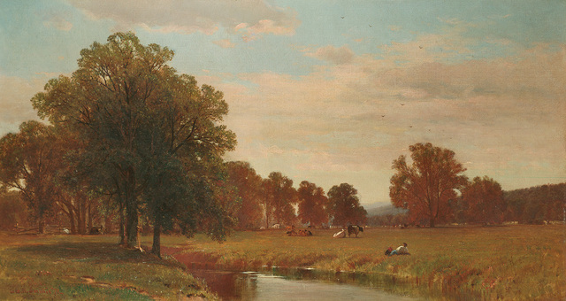 , 'Trees and Meadows of Berkshire,' 1871, Questroyal Fine Art