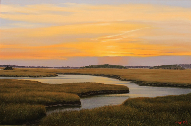 Sergio Roffo, 'Scituate Marshlands', 2019, The Guild of Boston Artists