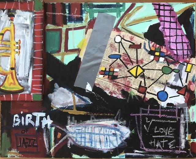 Samuel Iztueta, 'Birth of Jazz', Imlay Gallery