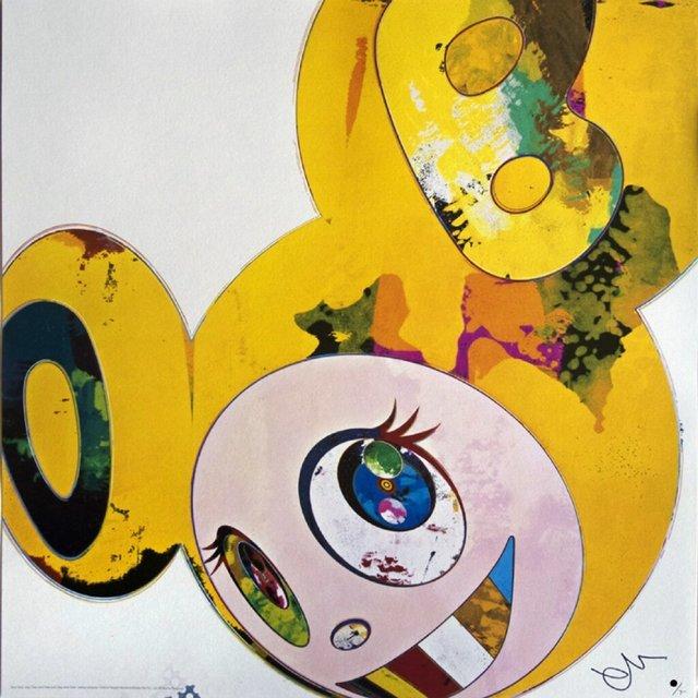 Takashi Murakami, 'And Then x6 (Yellow Universe)', 2006, Pop Fine Art