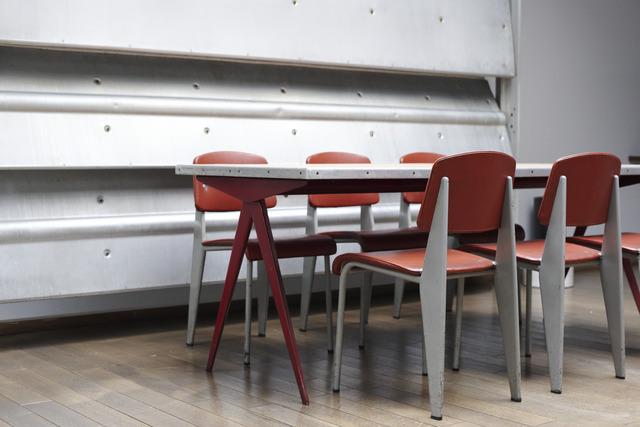 """, '""""Bulgomme"""" table,' 1950, Jousse Entreprise"""