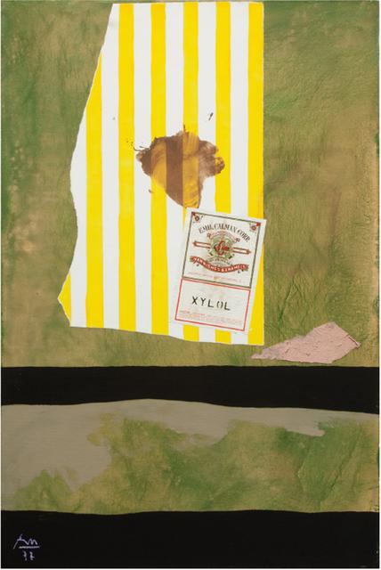 , 'Xylol,' , Barbara Mathes Gallery
