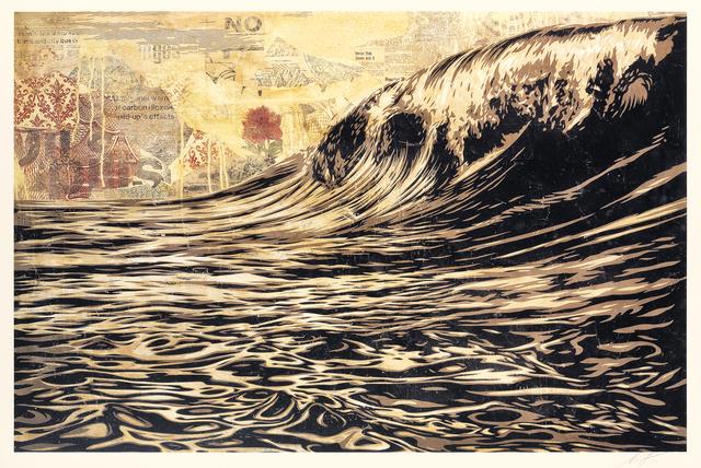 Shepard Fairey, 'Dark Wave', 2019, Tate Ward Auctions