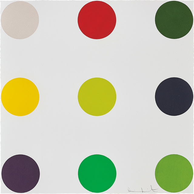 Damien Hirst, 'Phenformin, from 12 Woodcut Spots', 2010, Phillips