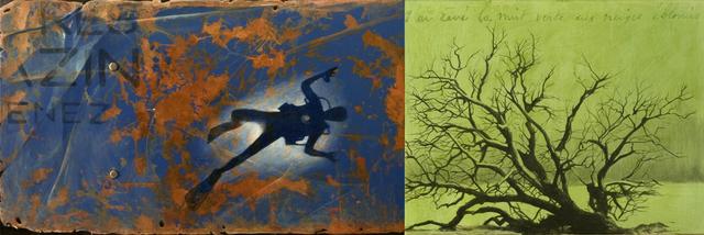 Paul Béliveau, 'Les Ephemeres 10.05.11: Plongeur - Arbre', Painting, Acrylic on canvas, Plus One Gallery