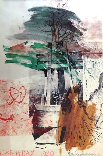 Robert Rauschenberg, 'Earth Day', 1990, Roseberys