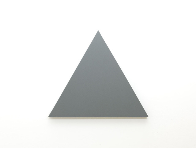 , 'Triangle Painting,' 2012, Annely Juda Fine Art