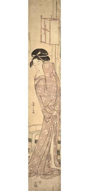 Hosoda Eishi, 'After the Bath', ca. 1790, Ronin Gallery
