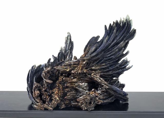 , 'Chasing Silence (Blue Raven),' 2017, Akinci