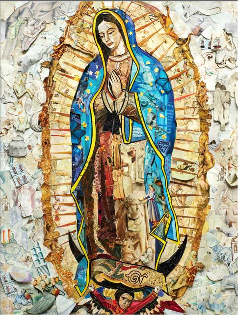 Vik Muniz, 'Our Lady of Guadalupe', 2019, galerie nichido / nca | nichido contemporary art