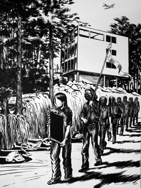 Mihael Milunovic, 'Procession', 2014, Coleccion SOLO