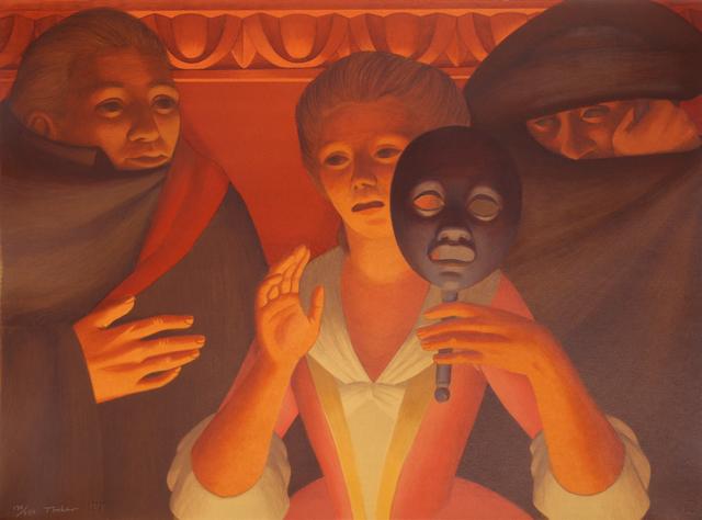 George Tooker, 'Un Ballo en Maschera', 1983, RoGallery