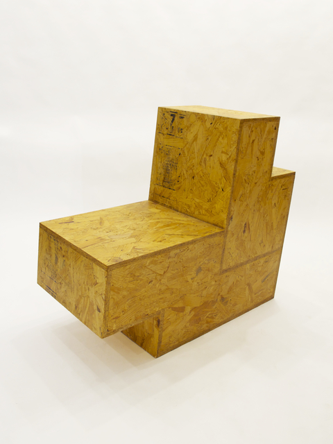 , 'Shape Chair Zag,' 2010, Patrick Parrish Gallery