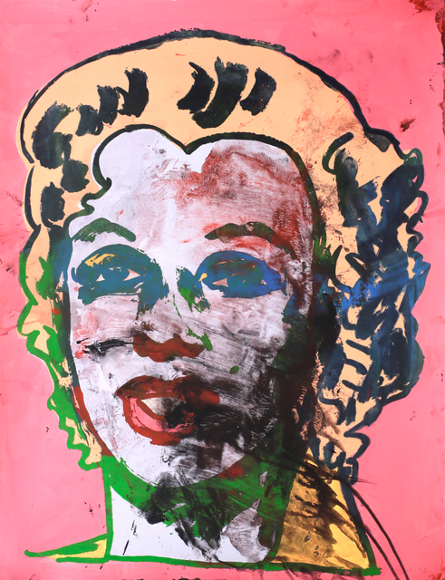 , 'Dirty Marilyn,' 1990, Galerie Krinzinger