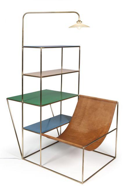 , 'Installation, cuir laiton propylène,' 2012, Les Arts Décoratifs